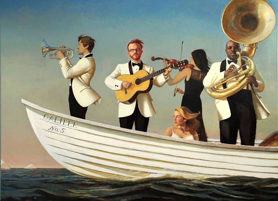 Sea of Galilee - Bo Bartlett