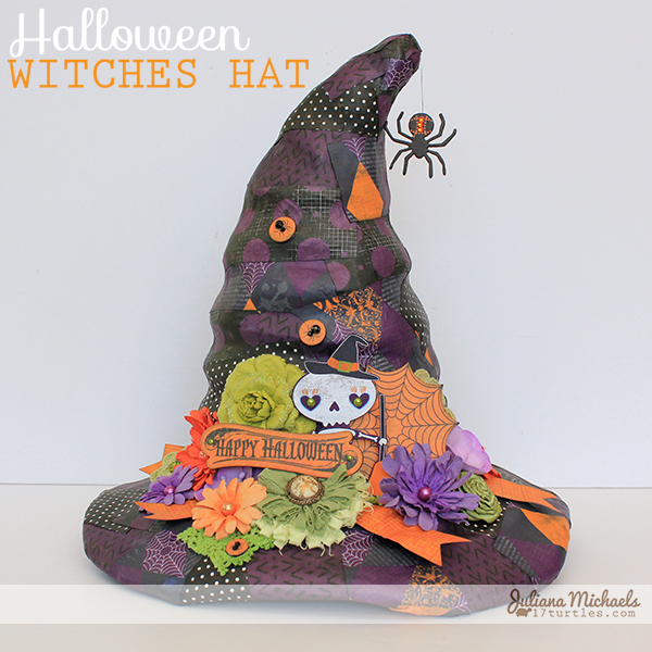 Fright Delight Halloween Witches Hat by Juliana Michaels