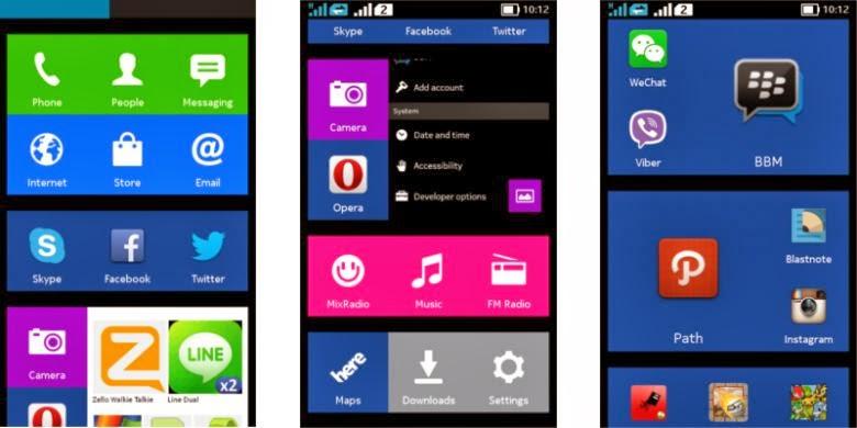1546303Tampilan antarmuka Nokia X780x390 Ini Review dan Penampakan Android Nokia X Terbaru 2014