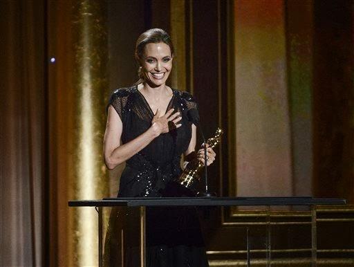 Angelina Jolie wows Oscar rehearsal actors