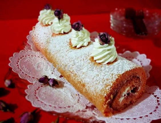 how to make swiss roll cake at home