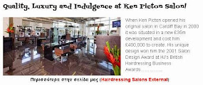 Quality, Luxury and Indulgence at Ken Picton Salon!