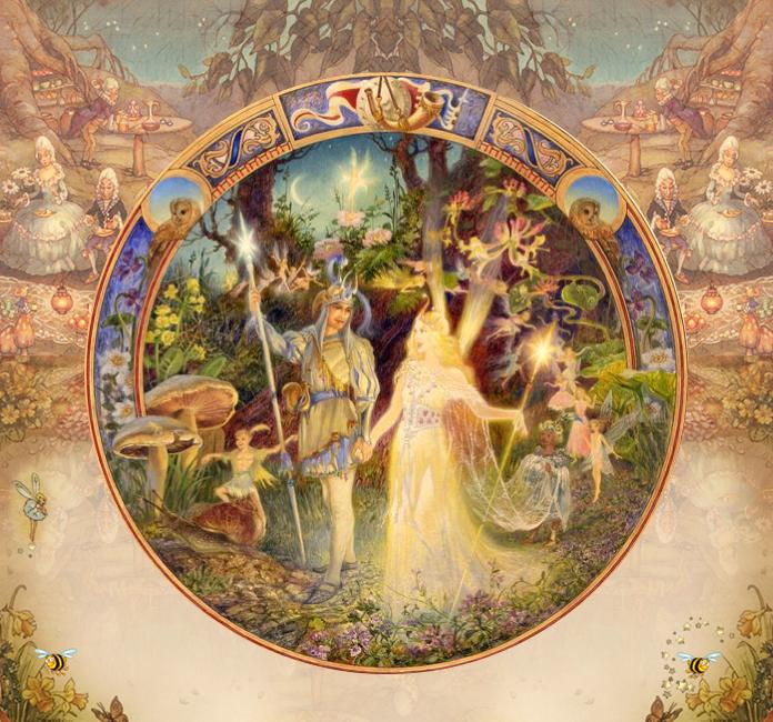 'Oberon and Titania'