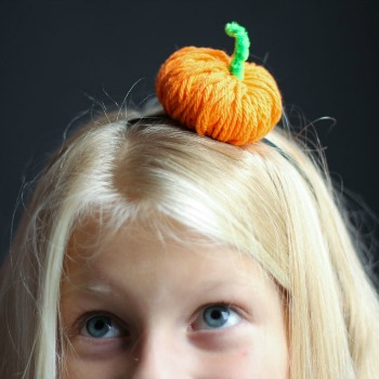The Cutest Pumpkin Headband!