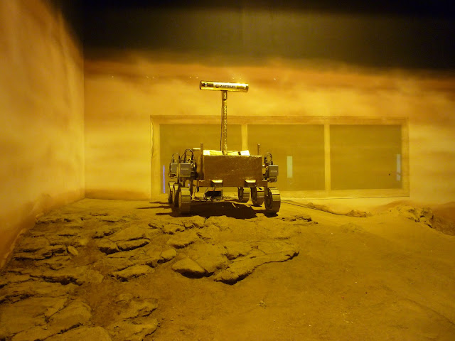 mars rover at leicester space centre via lovebirds vintage