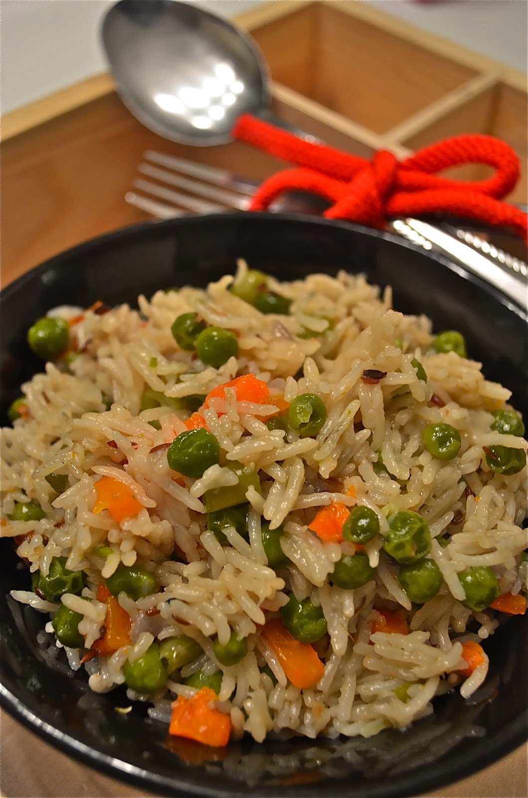 Dishing With Divya: Veg - Pulao / Vegetable Pulav / Vegetable Rice ...