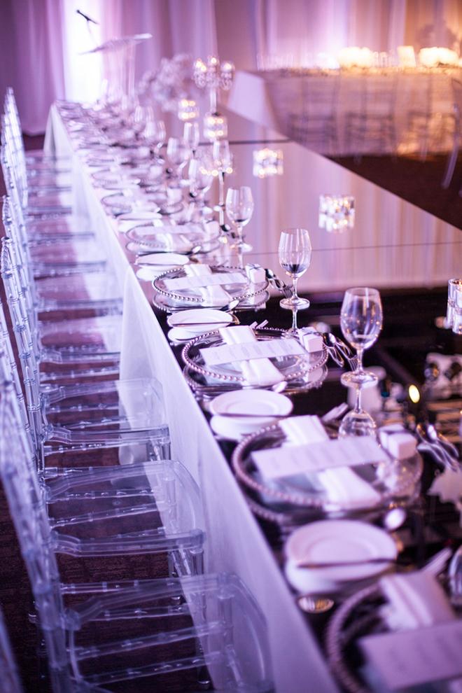 Modern Wedding Decorations Suggestions : Contemporary wedding reception ideas with decor