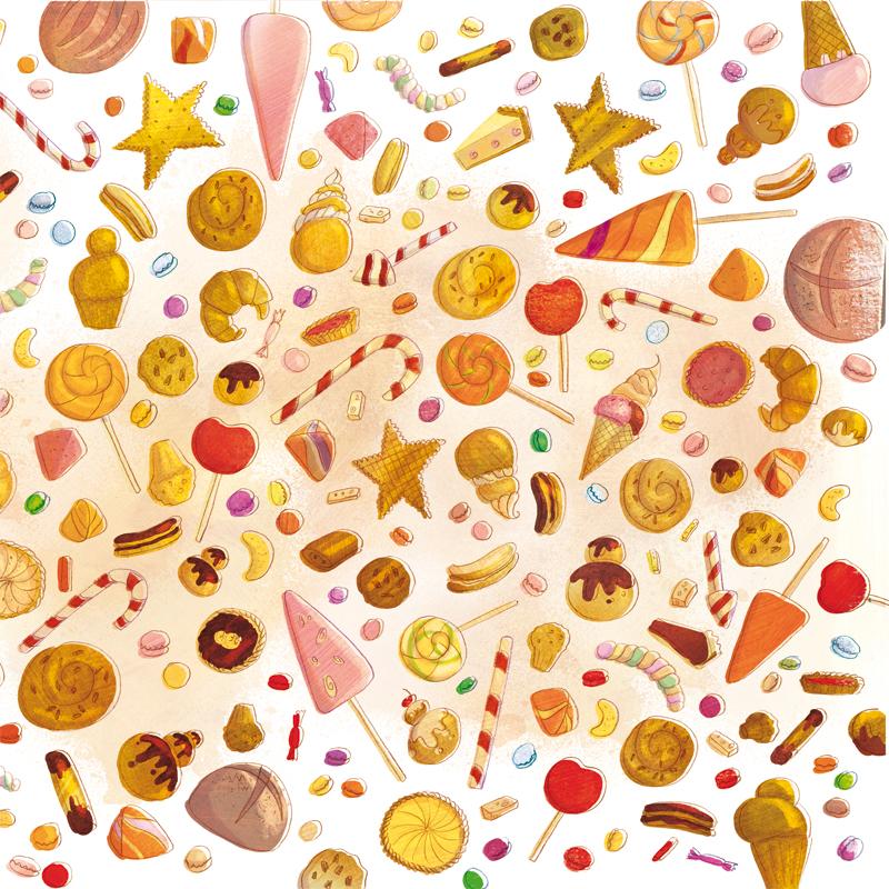 Sel illustratrice freelance mars 2013 for Cuisinier sel