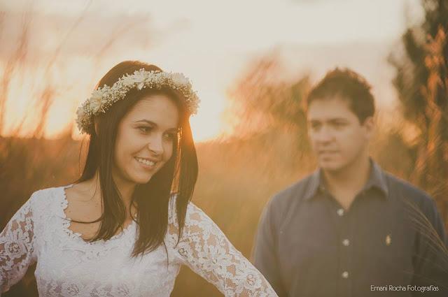 coroa de flores para noivas - previa romantica Tatiana e Dayvisson
