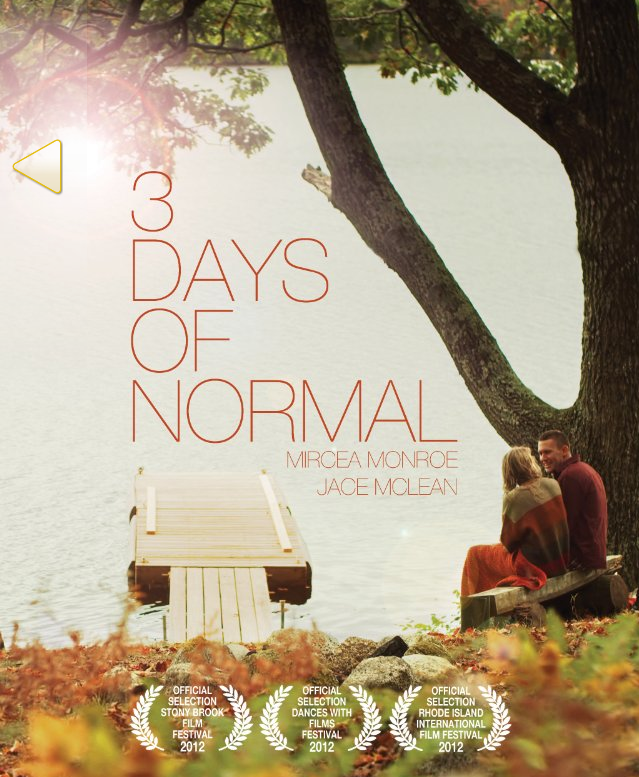 Download - 3 Days of Normal - WEBRip AVI + RMVB Legendado ( 2013 )