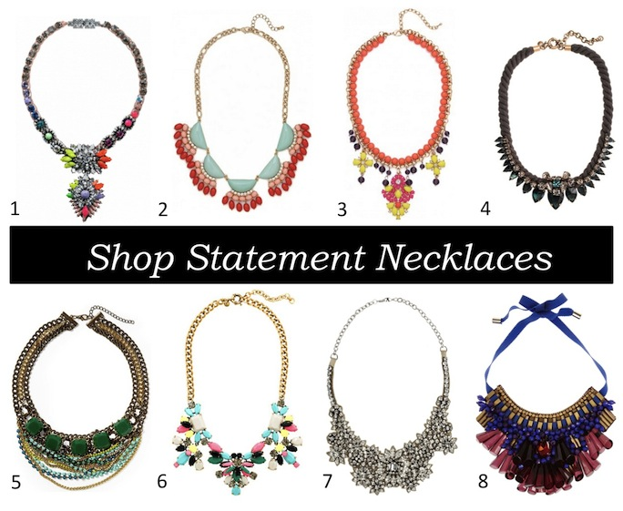 shop statement necklaces