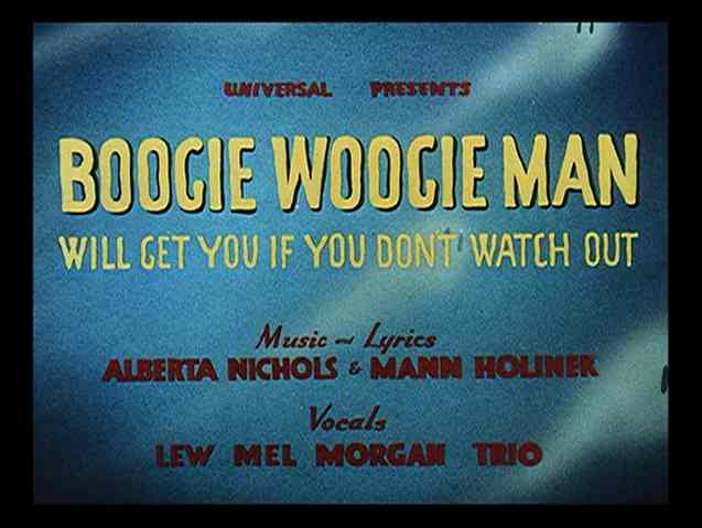 Boogie woogie ghost vocals - YouTube