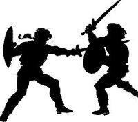 Lucha con espadas