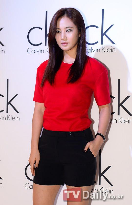 Snsd Yuri Calvin Klein Korea