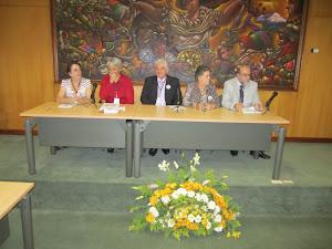 Primera sesión en la Universidad Andina