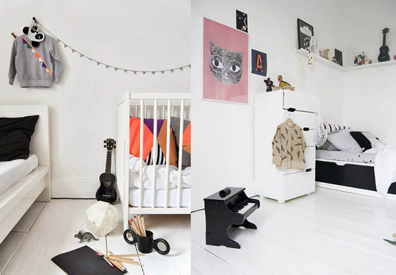 scandinavian kids' room, ollie and sebs haus via http://www.scandinavianlovesong.com/