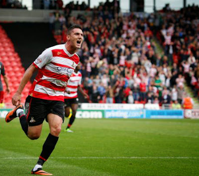 Federico Macheda Manchester United loan Doncaster Rovers 2014