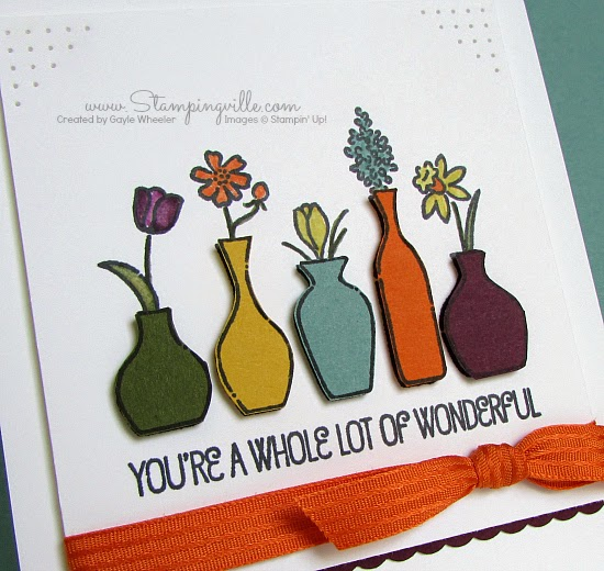 Trendy new In Colors from Stampin' Up!