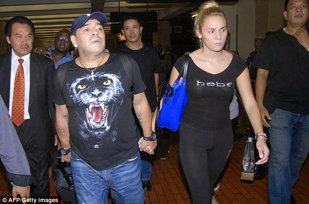 Klip Video Maradona Belasah Teman Wanita Tersebar , info, terkini, sukan, diego maradona, sensasi,