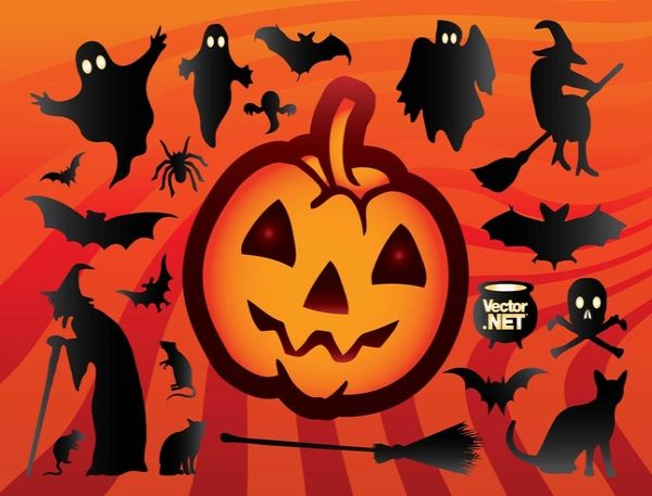 Free Cool Halloween Vectors Art