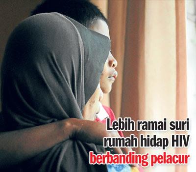 suami bawa HIV pada isteri