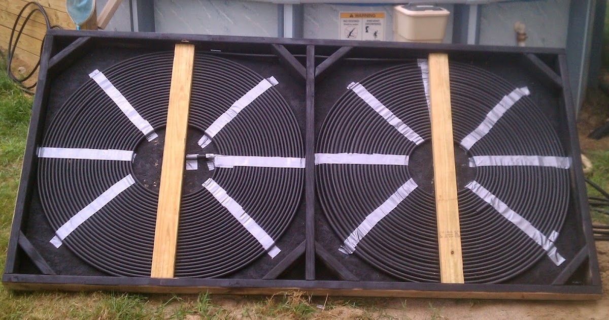 How To Build Your Own Solar Pool Heater And Add A Diverter Simple Suburban Living