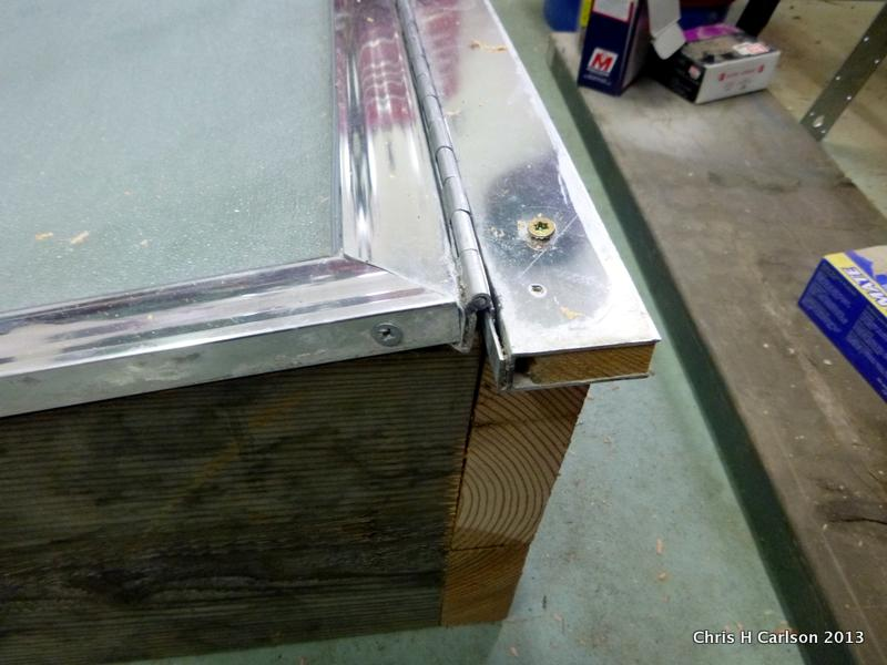 Freedom Gardens Blog: Building a cold frame with a reclaimed shower ...