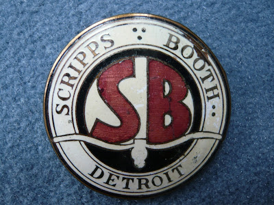 SCRIPPS BOOTH radiator emblem badge