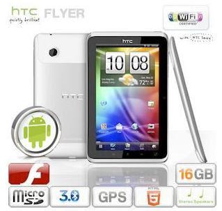 Kracher!!!: HTC Flyer WiFi 16GB bei iBood für nur 235,90 Euro