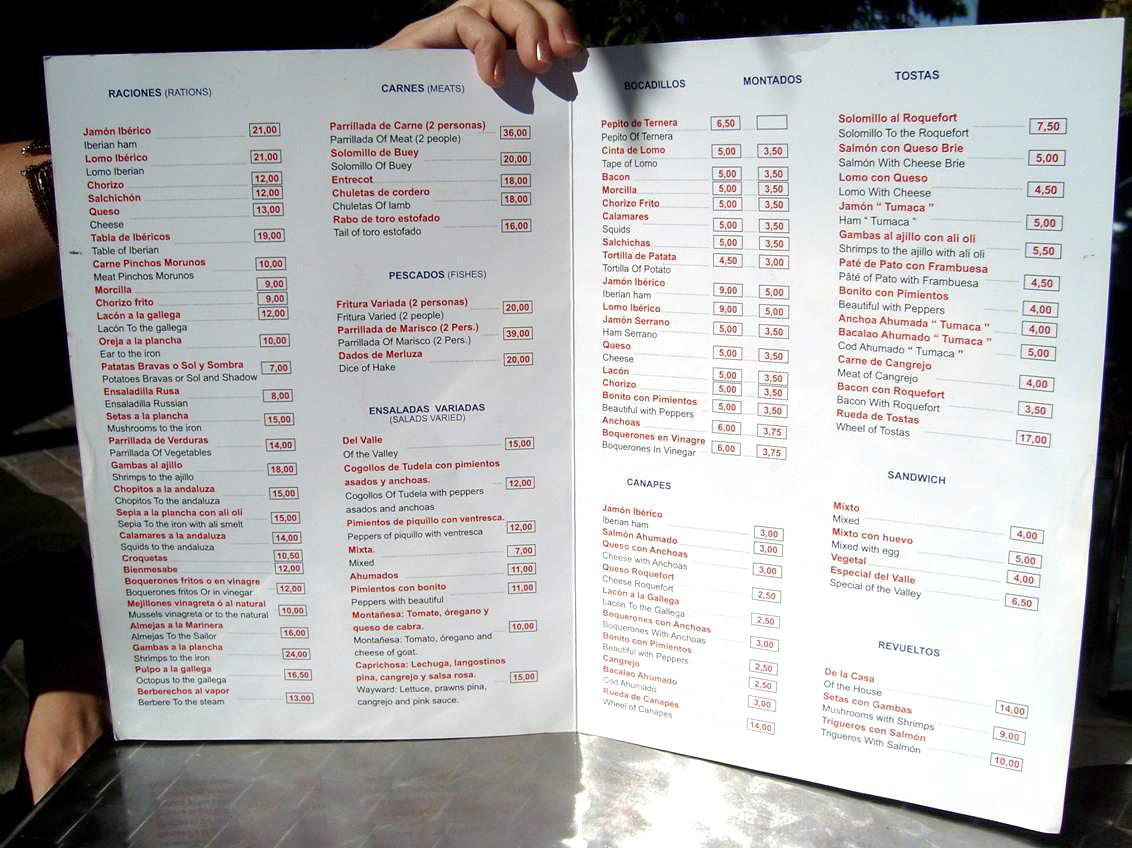 Cafe Europa Menu Greensboro Nc
