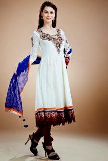 Designer Anarkali Frock Suit