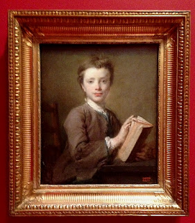 Perroneau, Boy with Book