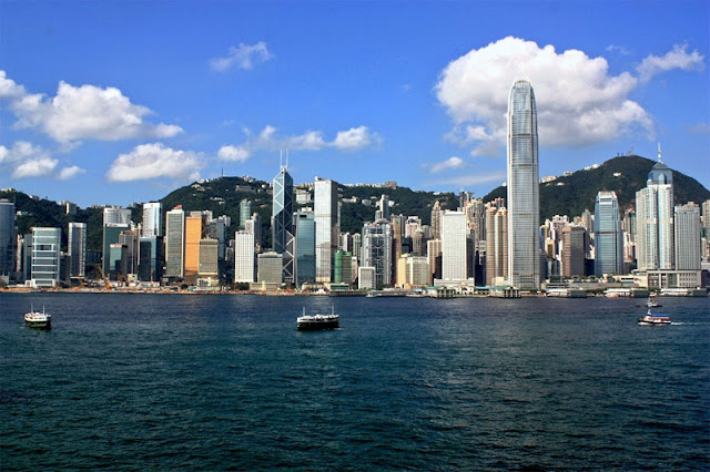 Different Moods of Skyline of Hong Kong