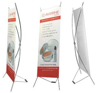 Kệ X - Giá X- Standy - Standee - X banner