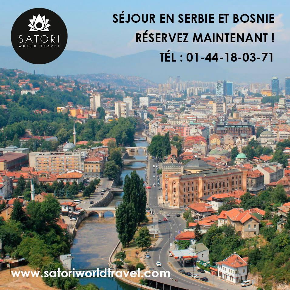Séjour en Serbie et Bosnie du 22 au 29 octobre