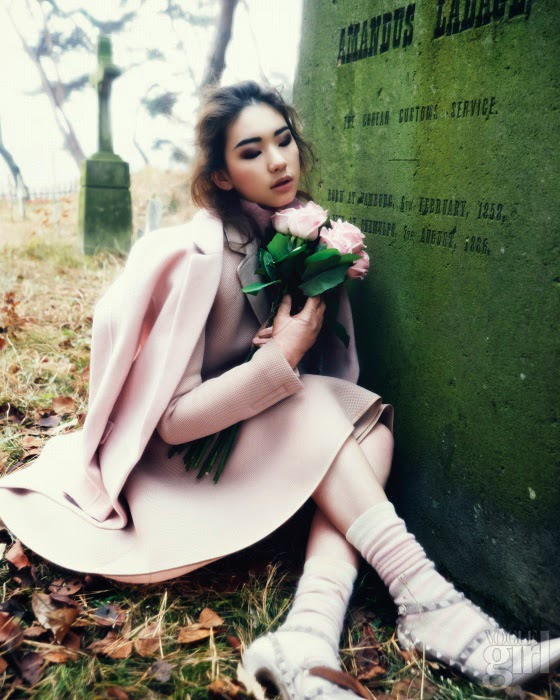 Kim Jin Kyung - Vogue Girl Magazine January Issue 2014