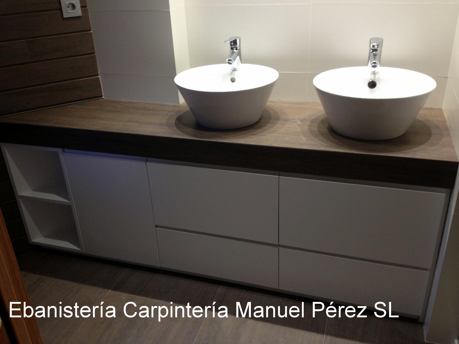 Ebanisteria carpinteria manuel perez zaragoza mueble for Medidas mueble bano
