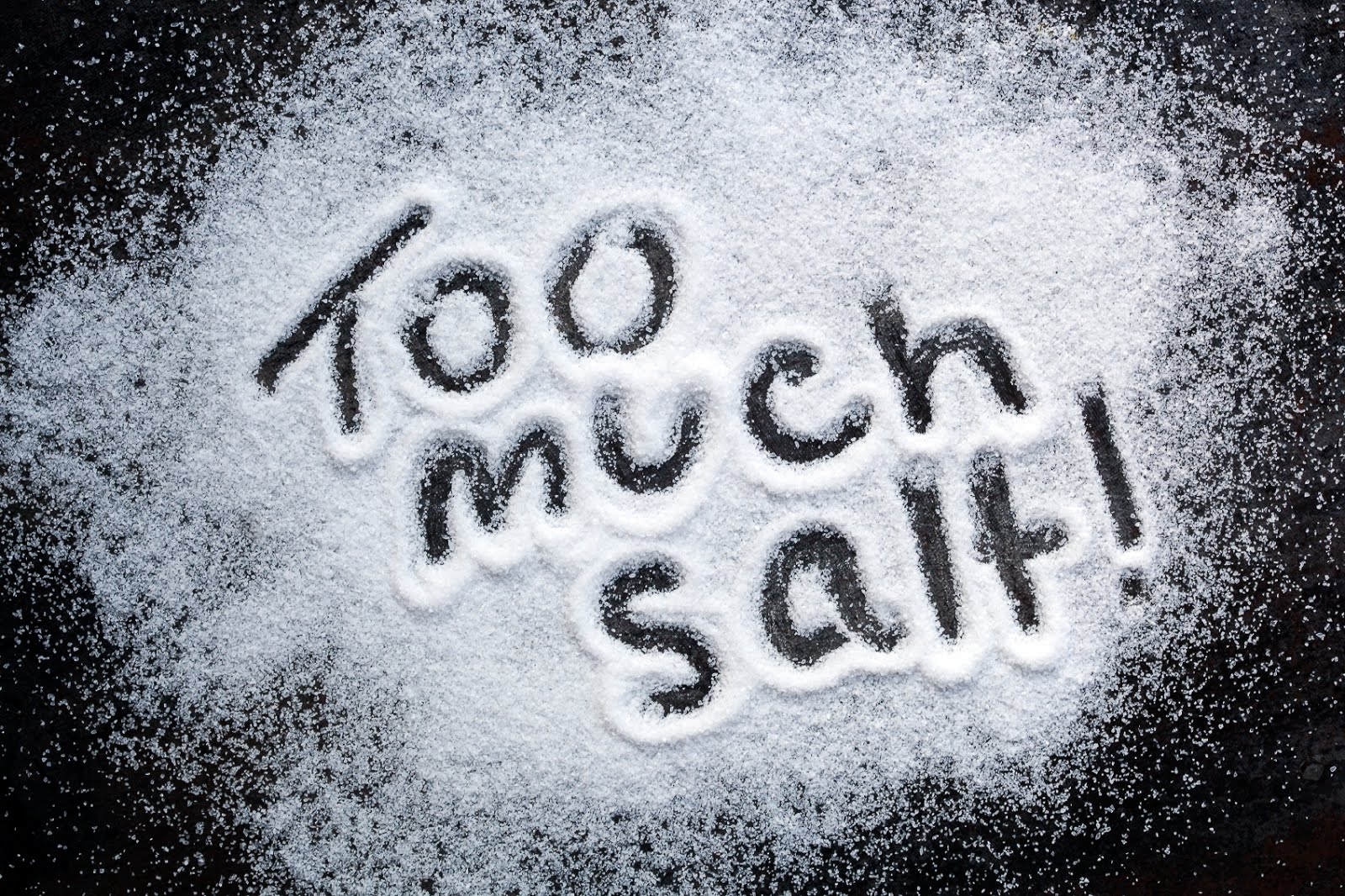 Throw Away the Salt Shaker to Live Longer