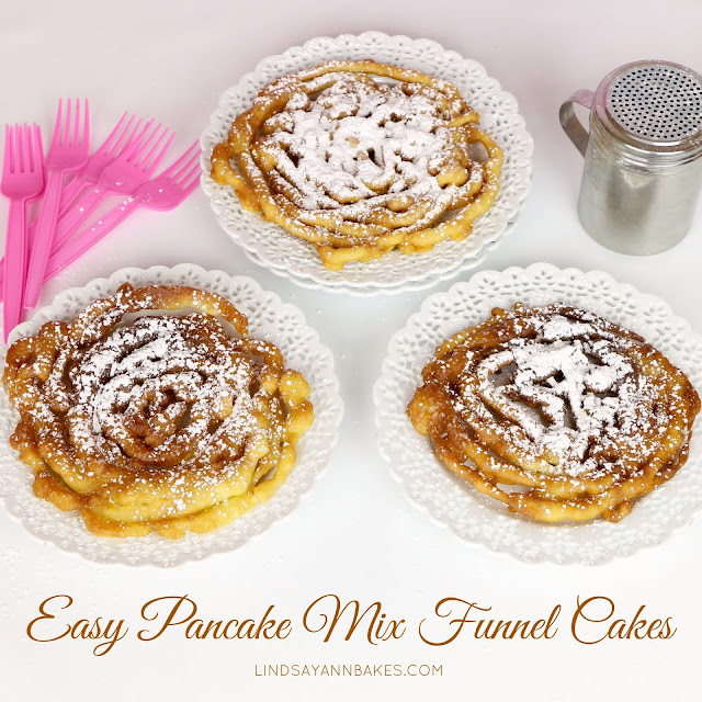 Funnel Cake Using Pancake Mix Recipe