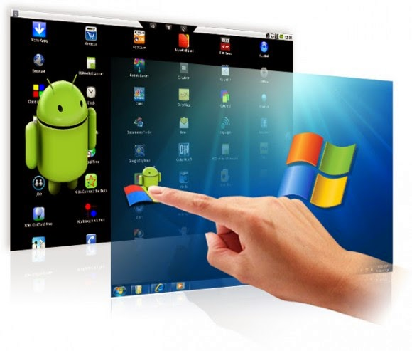 how to emulate android application