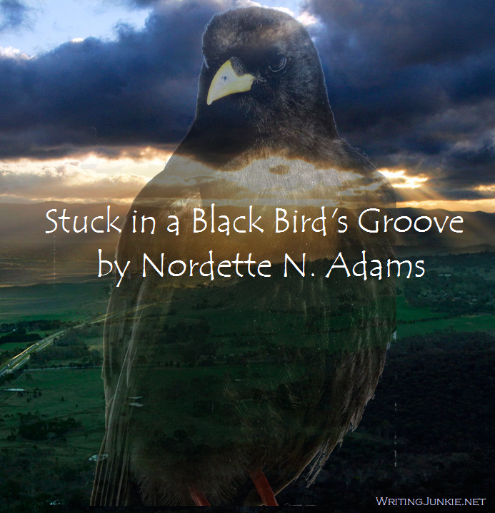 blackbird graphic for poem