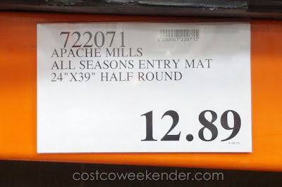 Deal for the Apache Mills All Seasons Heavy-Duty Entrance Mat at Costco