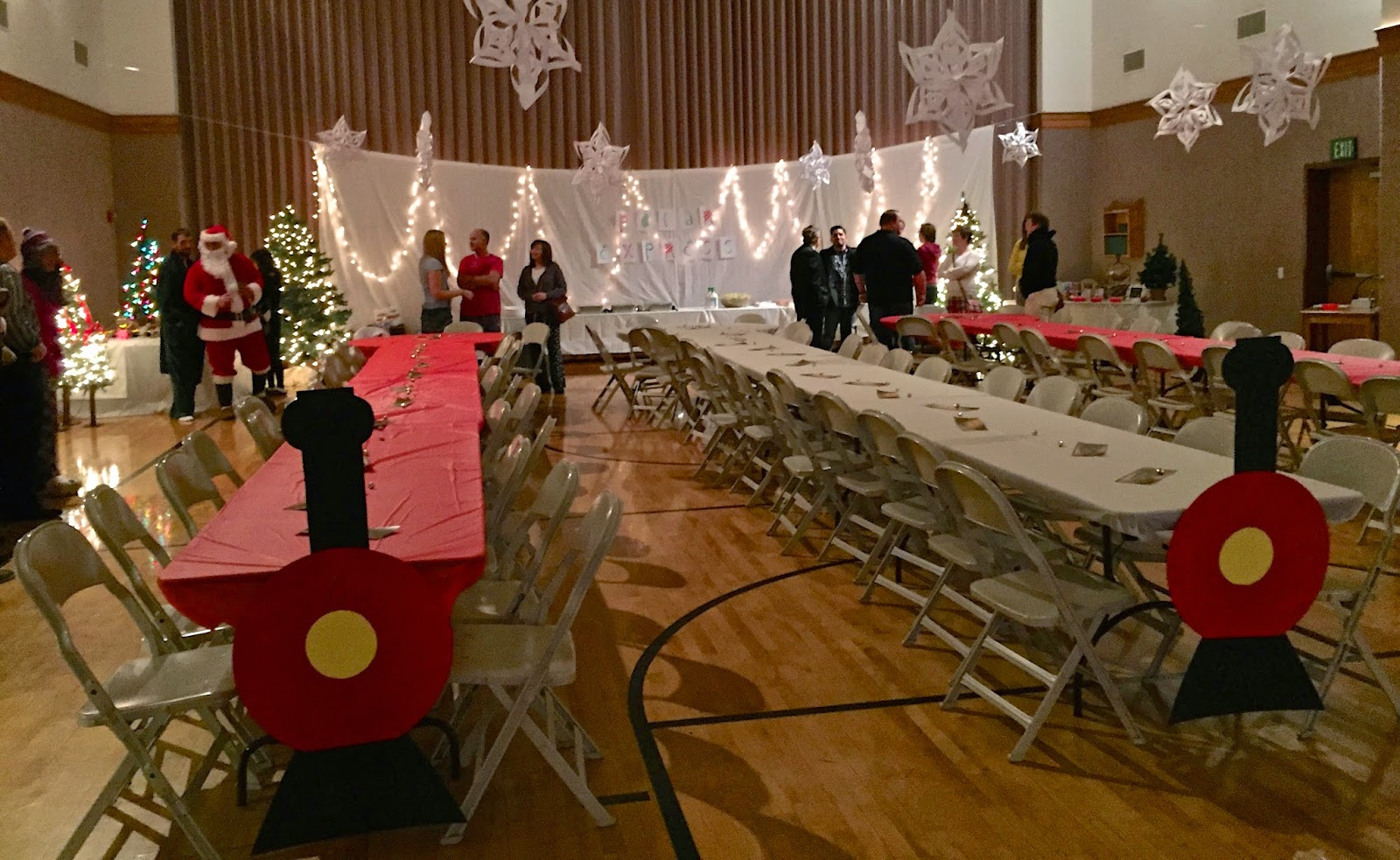 Lds Ward Christmas Party Ideas Part - 20: Polar Express Ward Christmas Party