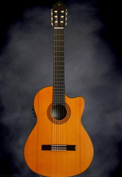 harga gitar klasik yamaha CGX122MCC nylon