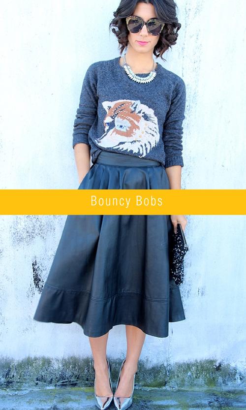 Spring Trends - bouncy bobs | via colourfulcarla.com