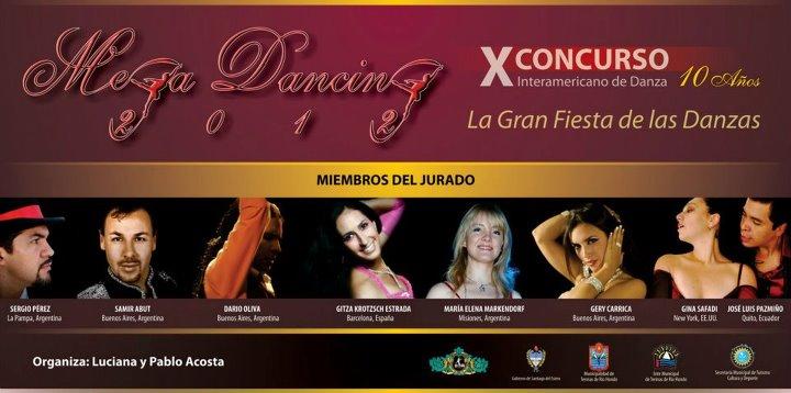 Dario Oliva miembro del jurado de Mega Dancing 2012