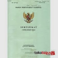 jaminan sertifikat rumah
