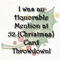 mention honorable chez 52 Christmas Card Throwdown