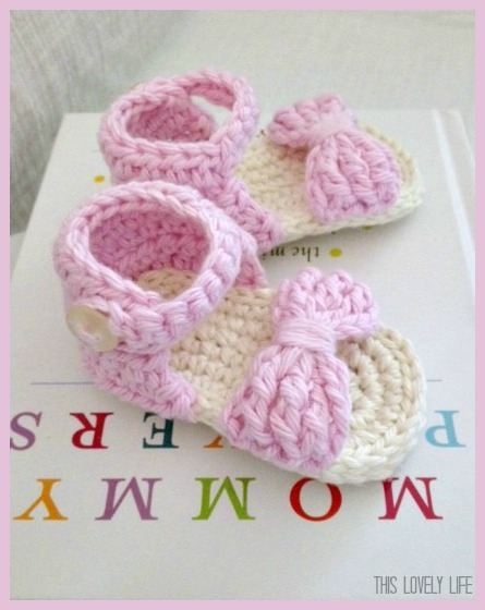 Crochet Baby Sandals Adorable Crochet Baby Sandals Pattern