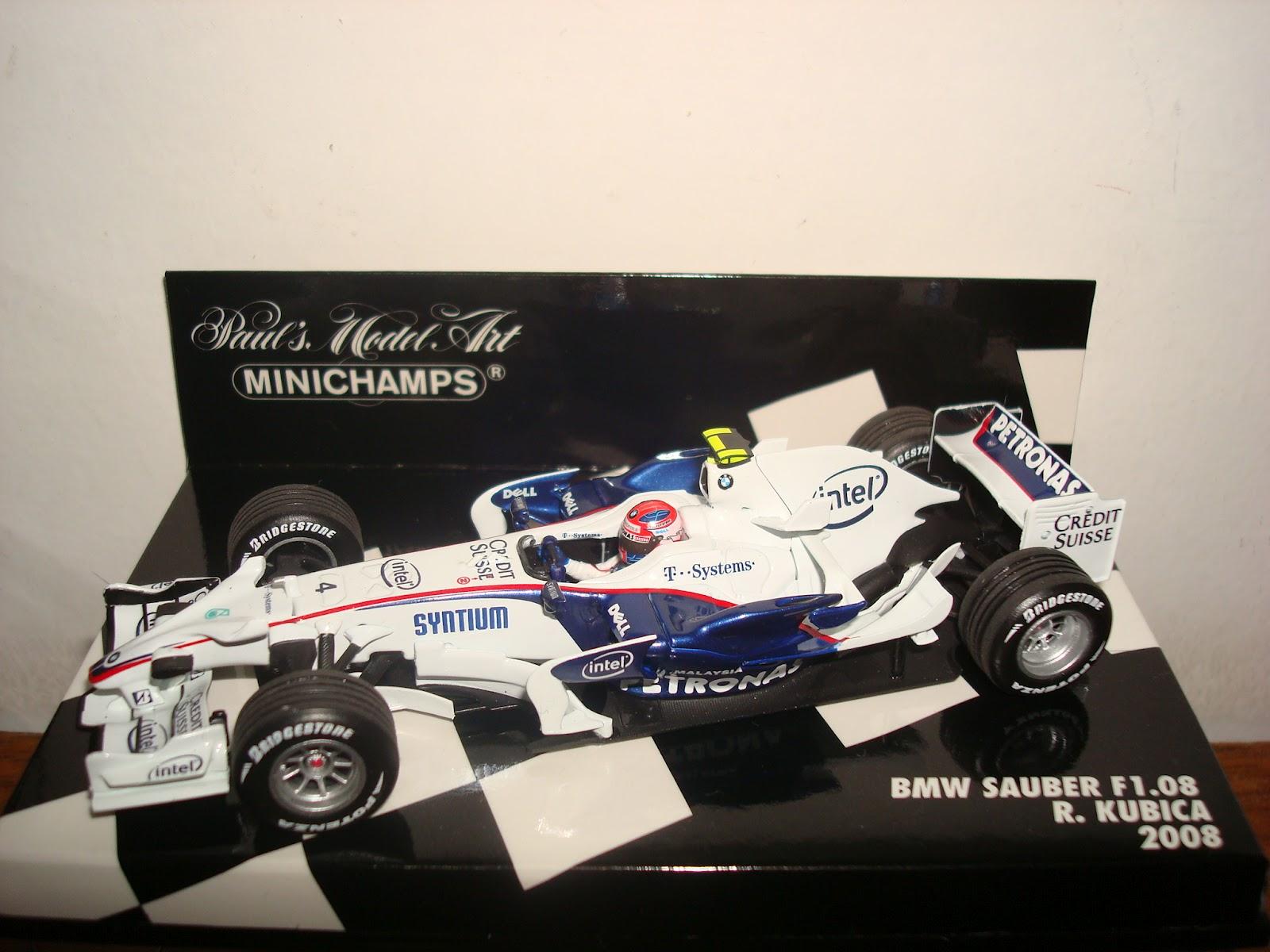 Mini Mundo F1 Bmw Sauber 2008